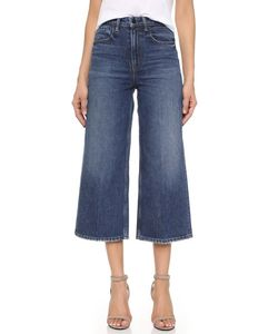 Denim x Alexander Wang | Drill High Rise Wide Leg Jeans