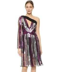 Rodarte | Sequin One Shoulder Dress