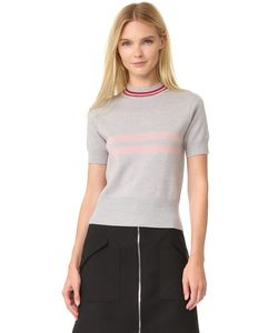 Tim Coppens | Cropped Mock Neck Sweater