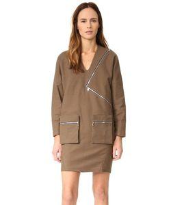 Aeron | Zip Long Sleeve Dress