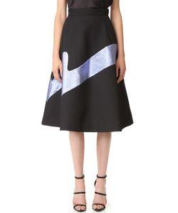 Vika Gazinskaya | Metallic Detail Skirt