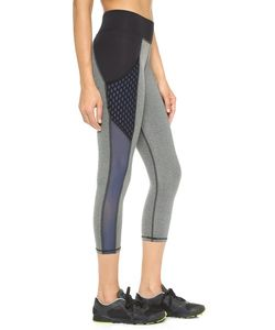 Michi | Stardust Crop Leggings With Pockets