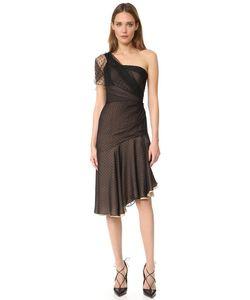 J. Mendel   One Shoulder Asymmetrical Dress