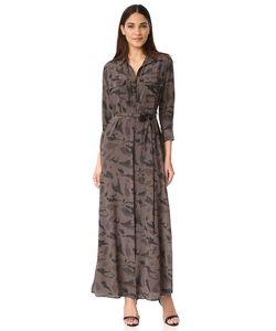 L'agence | Длинное Платье-Рубашка Cameron