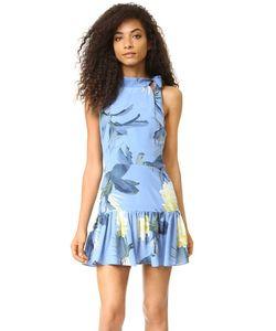 Sam & Lavi   Платье Adora С Цветочным Рисунком