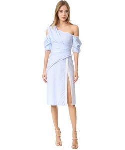 J. Mendel   Платье-Халат С Открытым Плечом