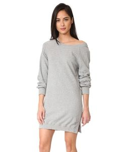 Pam & Gela | Платье С Открытыми Плечами И Эффектом Поношенности