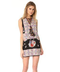 Anna Sui | Платье С Цветочным Принтом В Стиле Платка