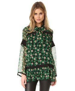 Anna Sui | Блуза С Принтом В Виде Принтом Starry Flower