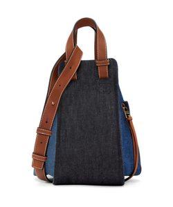 Loewe   Denim Small Hammock Bag