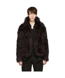 99 Is | 99 Is Faux-Fur Jacket