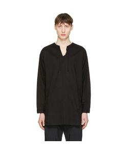 Undecorated Man | Drawstring Collar Shirt