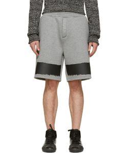 Kris Van Assche | Ssense Exclusive Grey Neoprene Shorts