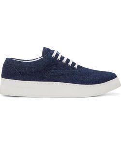 Kris Van Assche | Indigo Denim Sneakers
