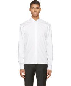 Kris Van Assche | White Classic Roll-Up Shirt