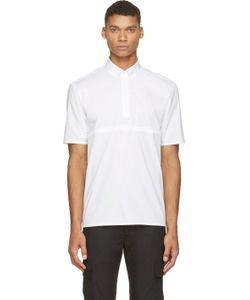 Kris Van Assche | White Tie-Tuck Shirt