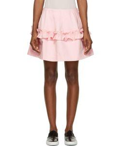 J Brand x Simone Rocha | Ruffled Denim Skirt