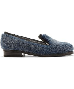 Amélie Pichard | Blue Shearling And Leather Andy Loafer