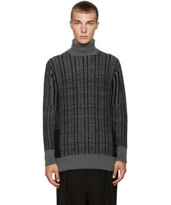 Curieux | Cashmere Pocket Turtleneck