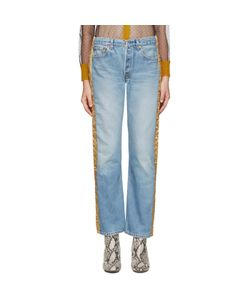 Bless | And Gold Padded Jeans