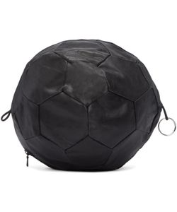 Bless | Leather Football Clutch