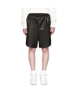 Giuliano Fujiwara | Leather Basket Shorts