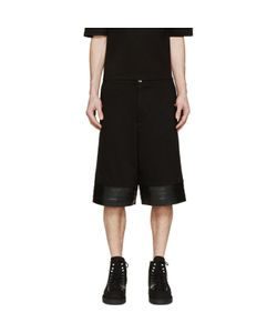 Cy Choi | Jersey And Leather Shorts
