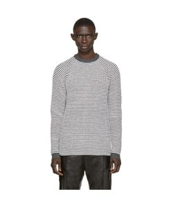 Umit Benan | And White Striped Supergeelong Sweater