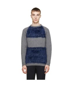 Undecorated Man | And Blue Colorblocked Sweater