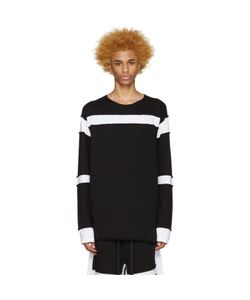 Ueg | And White Sliced Pullover