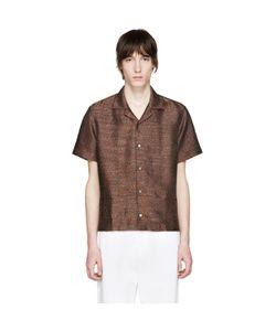 Cmmn Swdn | Leopard Jacquard Mervyn Shirt