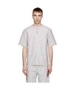 Phoebe English   And Black Striped Henley