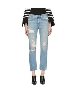 Brock Collection | Distressed Wright Jeans