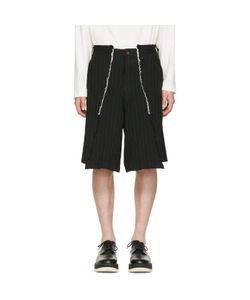 Comme Des Garçons Homme Plus | Pinstripe Shorts