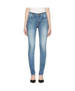 Saint Laurent | Mid Waist Skinny Jeans