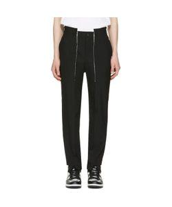 Comme Des Garçons Homme Plus | Wool Panelled Trousers