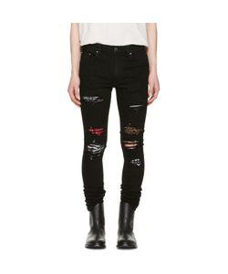 Amiri | Art Patch Skinny Jeans