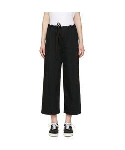 Ys | Denim Drawstring Trousers