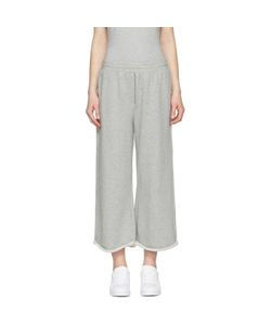 T by Alexander Wang | Cropped Wide Lounge Pants