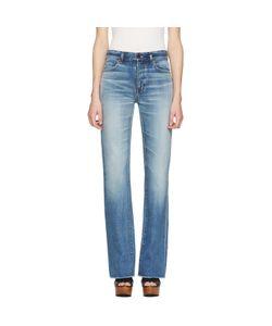 Saint Laurent | Cropped Fla Jeans