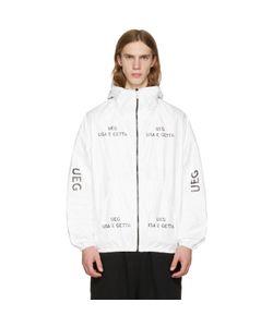 Ueg | Tyvekreg Logo Hooded Jacket