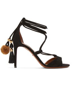 Dolce & Gabbana   Dolce And Gabbana Suede Lace-Up Sandals