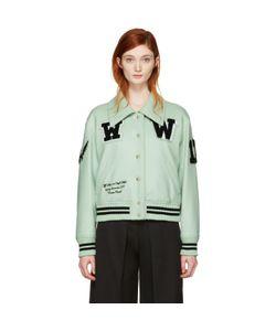 Off-White | Varsity Bomber Jacket
