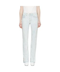 MSGM | Marbled Wash Vented Cuffs Jeans