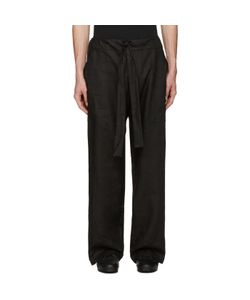 Phoebe English   Linen Tie Front Trousers