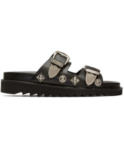 Toga Pulla | Charms And Buckle Sandals