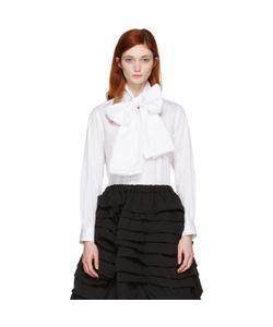 Comme Des Garçons | Lavalliere Bow Shirt