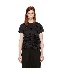 Comme Des Garçons | Velveteen Hearts T-Shirt