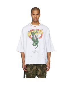 Unravel | Distressed Snake Boxy T-Shirt
