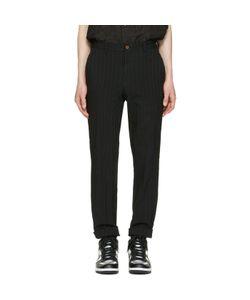 Comme Des Garçons Homme Plus | Striped Trousers